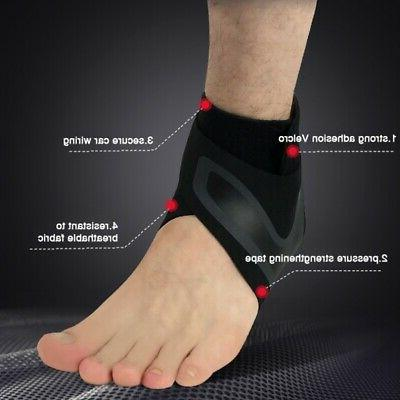 Adjustable Sports Ankle Brace Foot