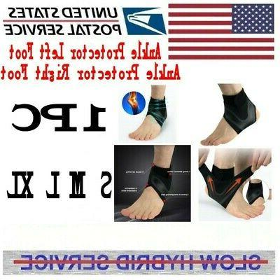 adjustable ankle support brace foot sprains injury