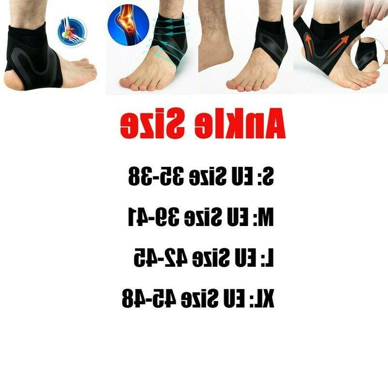 ADJUSTABLE Elastic Ankle Brace Foot Support