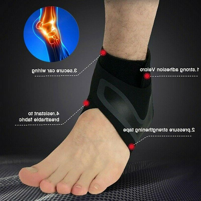 ADJUSTABLE ANKLE Elastic Foot Sports Ge
