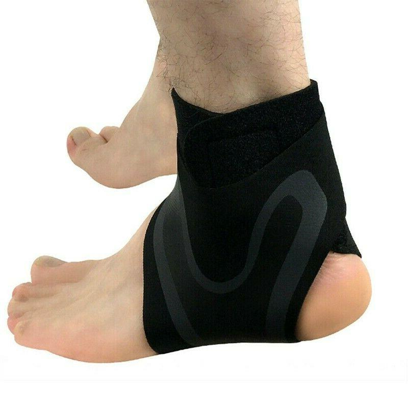 ADJUSTABLE ELASTIC SLEEVE Elastic Ankle Brace Guard Foot Support Ge