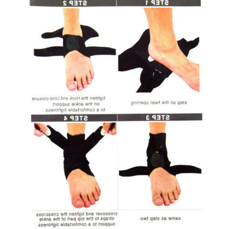 Adjustable Ankle Brace Support Protector Foot Wrap