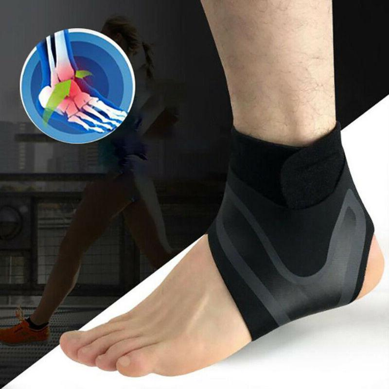 Adjustable Sports Elastic Ankle Brace Protector Foot Wrap