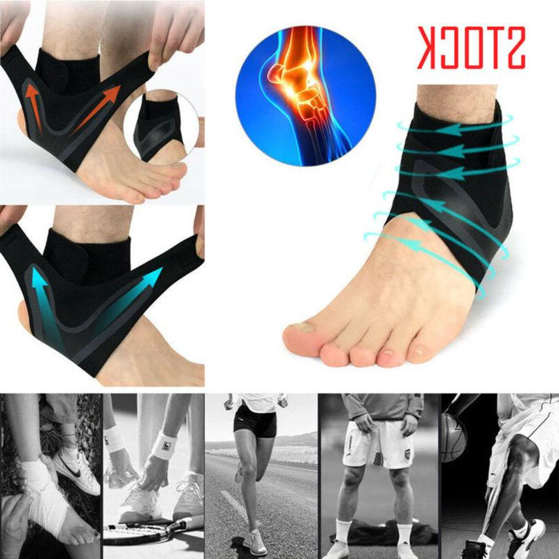 Adjustable Sports Compression Ankle Foot Wrap