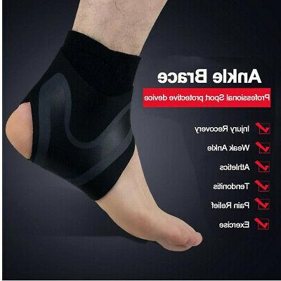 Adjustable Compression Ankle Support Foot