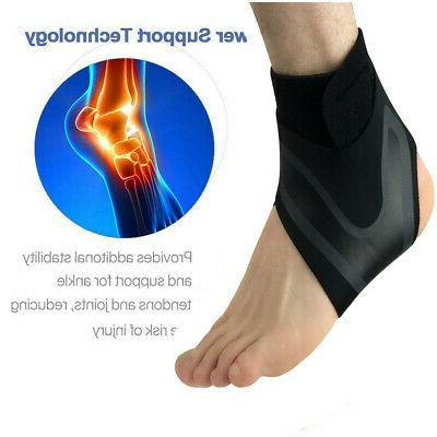 Adjustable Sports Ankle Foot Wrap