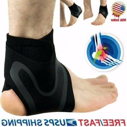 Compression Ankle Support Foot Drop Brace Splint Recovery St