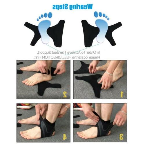 Adjustable Ankle Brace Foot Wrap