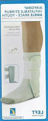 Ossur Airform Inflatable Stirrup Ankle Brace-YOUTH..RIGHT..