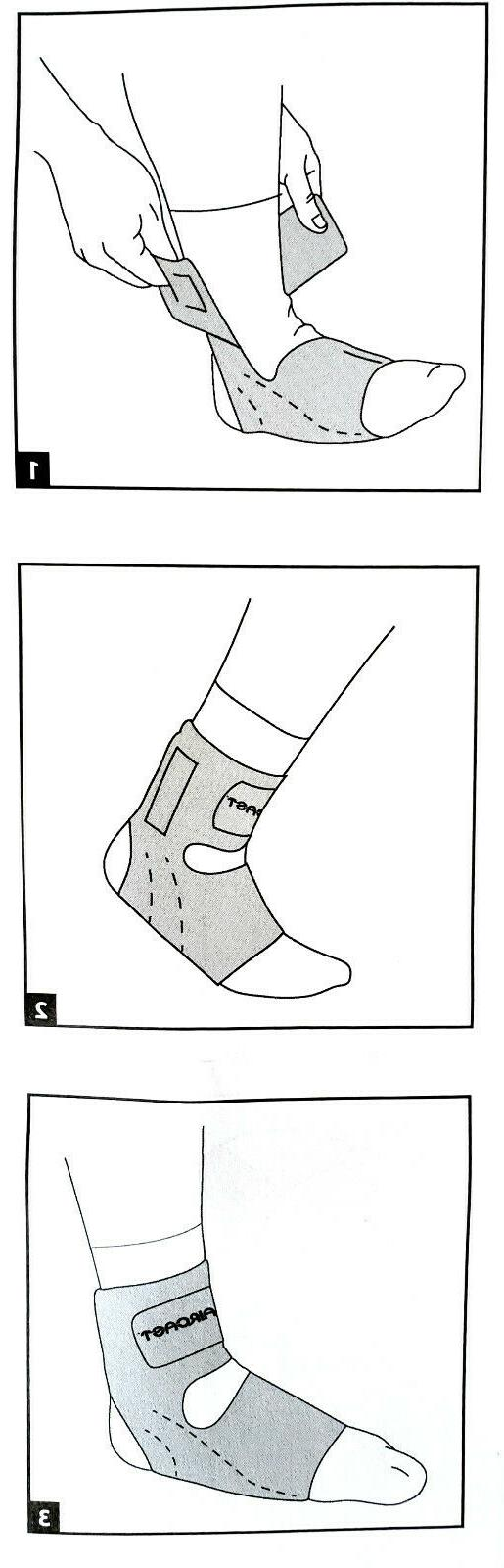 Aircast AirHeel Ankle