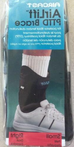 Aircast AirLift PTTD Ankle Brace Right Foot Small Adjustable