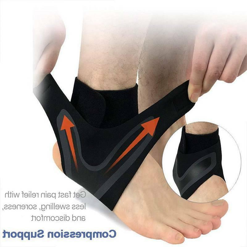 Ankle Brace Support Foot Wrap Sleeves Tendinitis