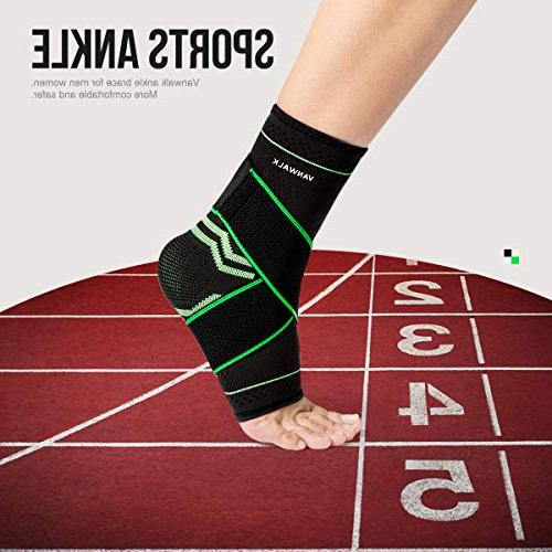 Ankle Brace Socks - - Green