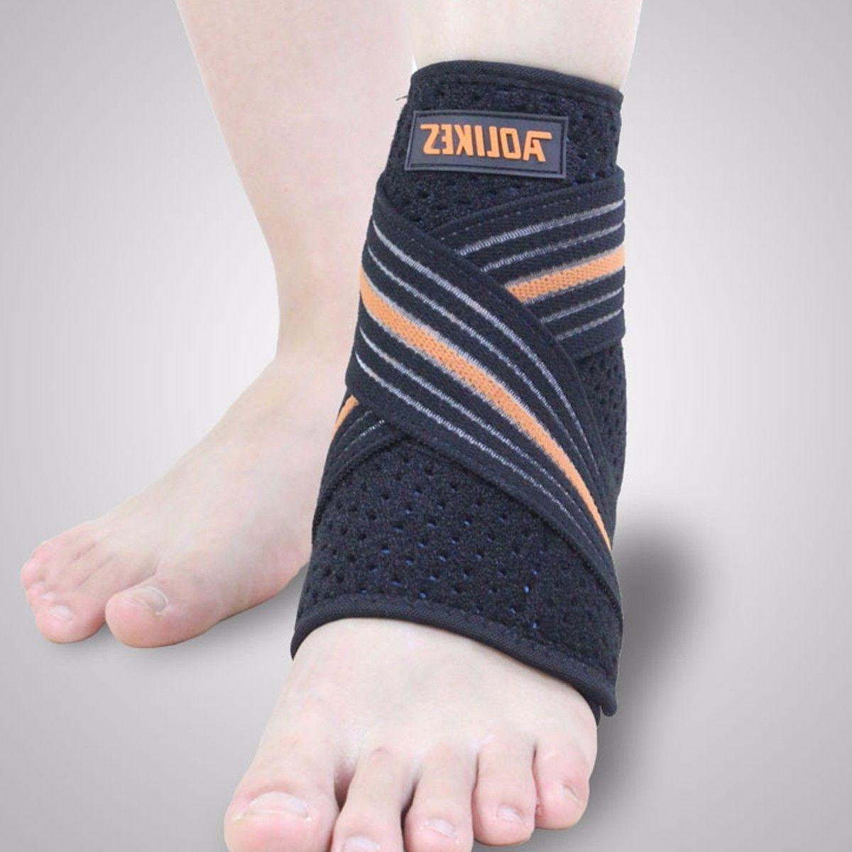 Ankle Brace Tendon Wrap Adjustable Neoprene Tendinitis