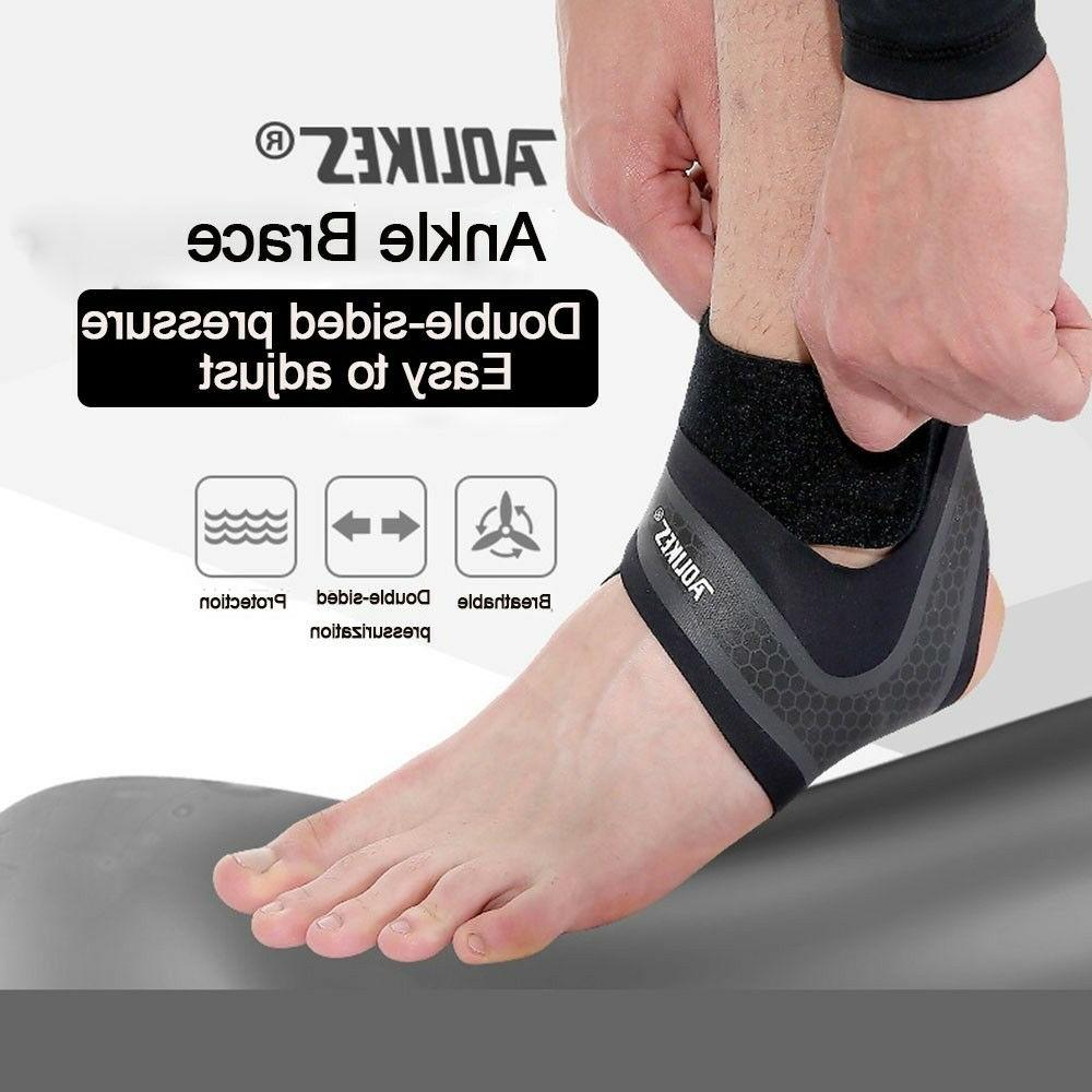 Ankle Compression Foot Nylon Stabilizer Wrap