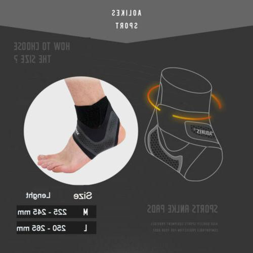 Ankle Support Compression Arch Tendon Nylon Stabilizer Wrap