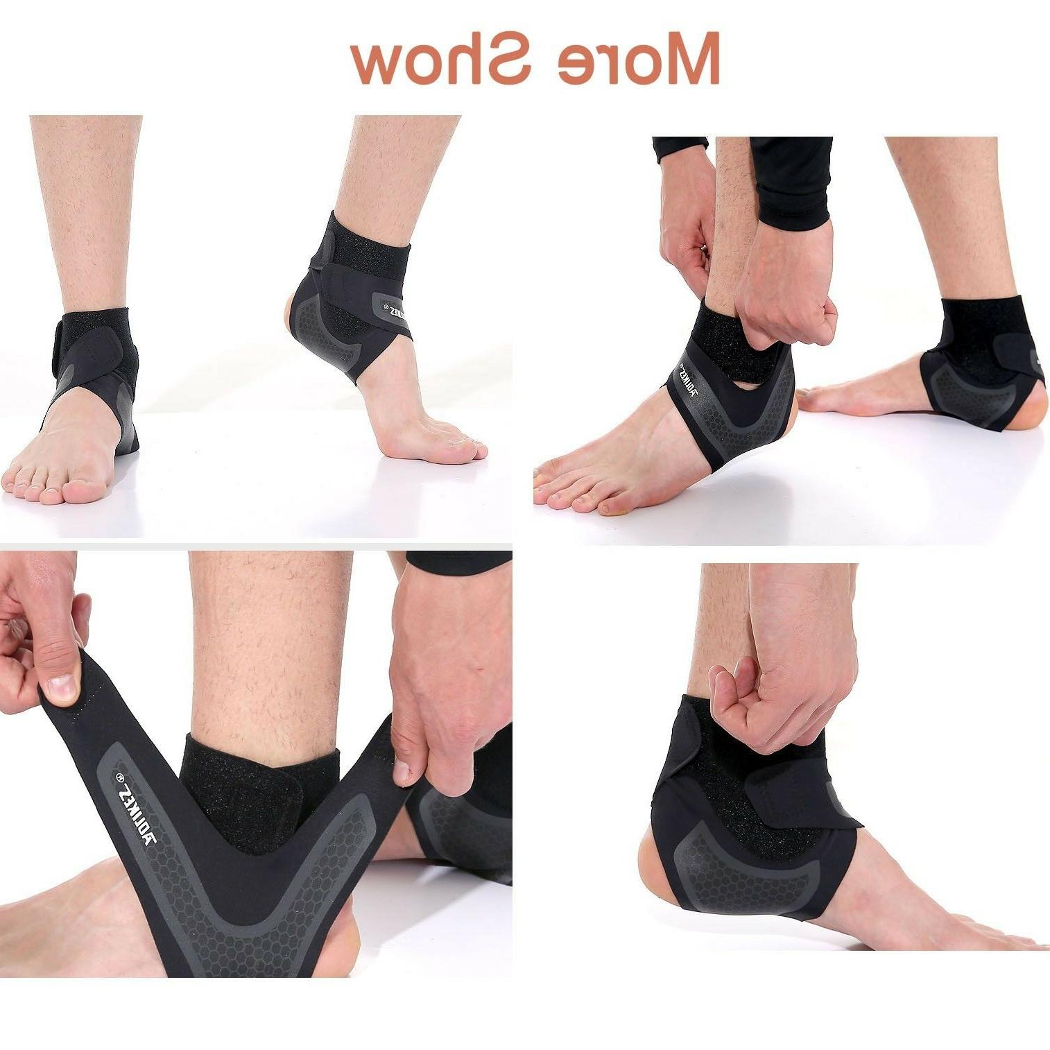 Ankle Brace Support Compression Foot Nylon