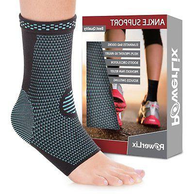 2d2fd72c3a PowerLix Ankle Brace Compression Support Sleeve for Athletics,