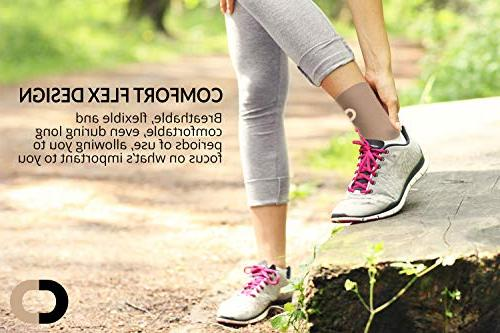 Ankle Brace for - Best Support Braces Pain Injury Achilles Tendon Support, Spur, Sock