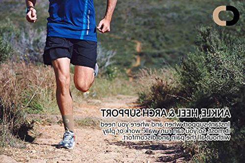 Ankle - Best Braces Injury Achilles Tendon Spur, Plantar Foot Sock
