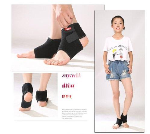 Ankle Support for Kids, Adjustable Ankle Sleeve Stable Guard for Sprain Pain