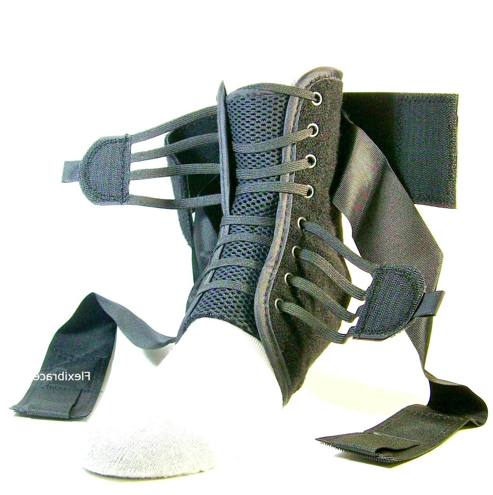 ankle brace support guard orthosis fastlacer new