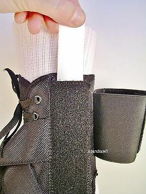 Ankle Brace Support With Removable Inserts New by