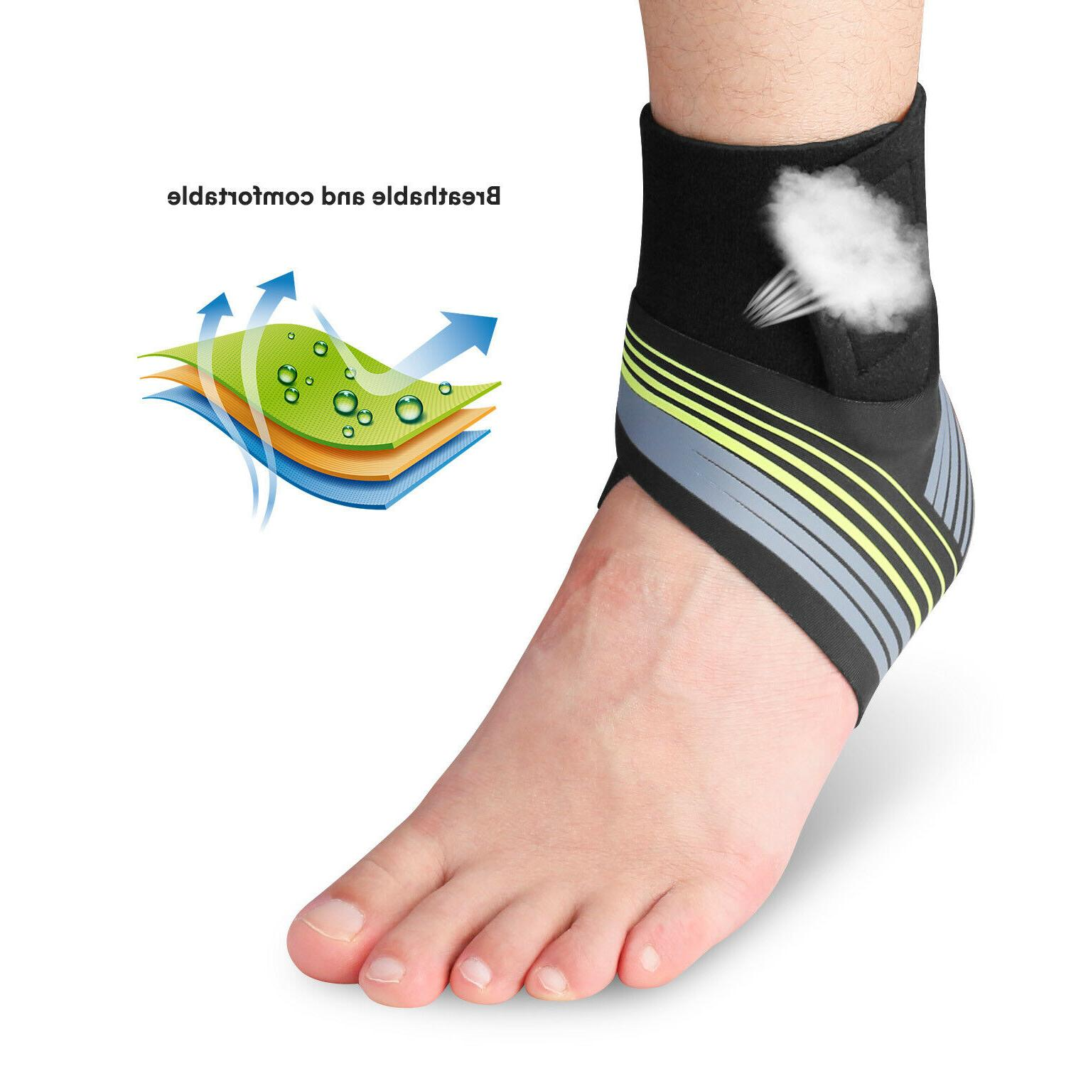 Fasciitis Pain Relief Compression Foot Sleeve Wrap