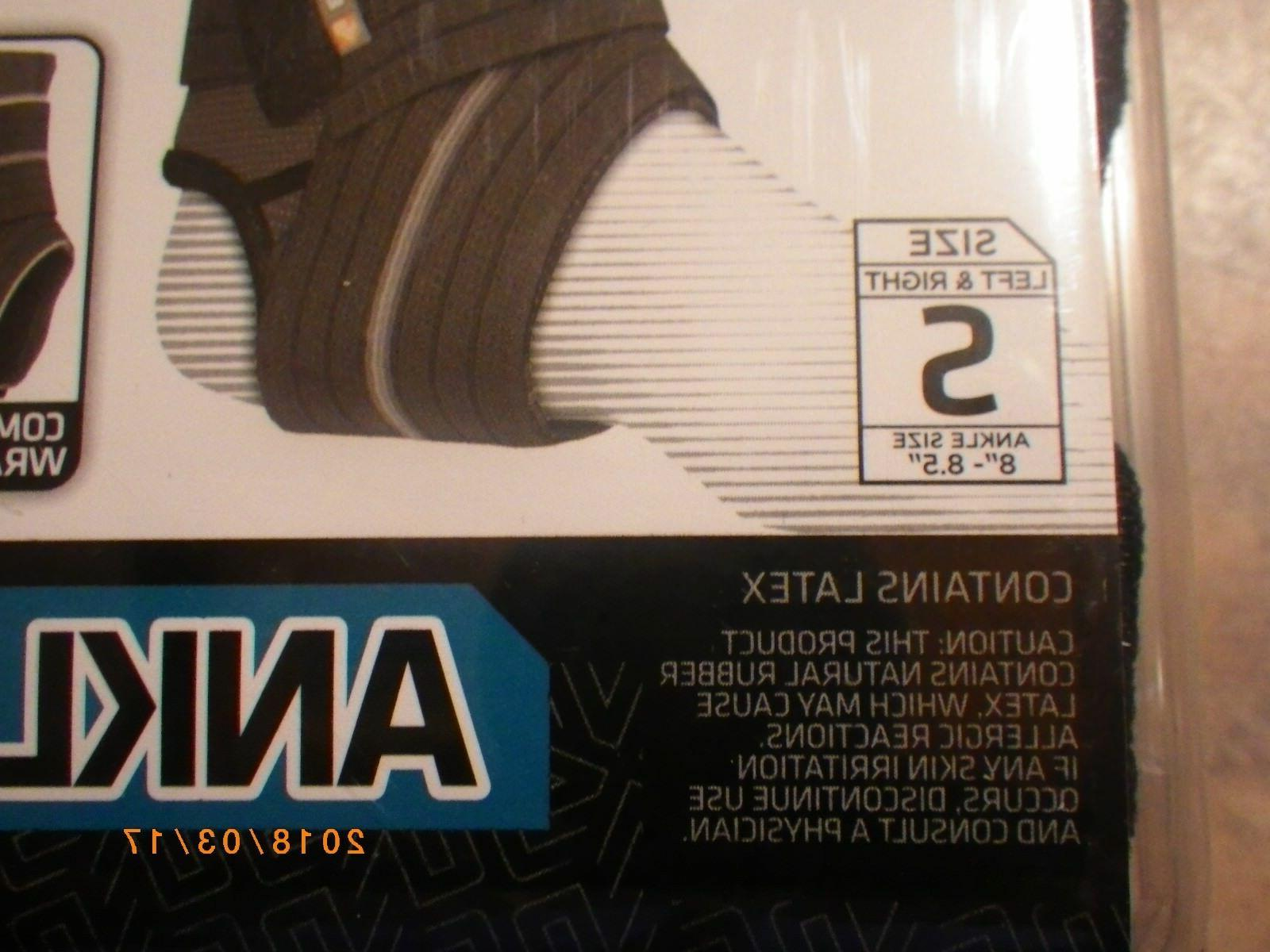 Shock Ankle 845 with Compression Support Sz Right