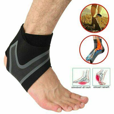 Ankle Sport Support Brace Strap Elastic New