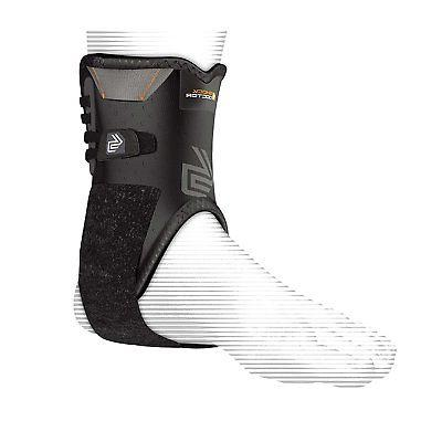 ankle stabilizer with flexible support stays black