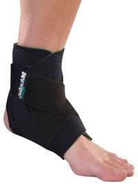 """ANKLE SUPPORT 86511 """"GREEN"""" UNI/BLK by MUELLER SPORTS MEDICI"""