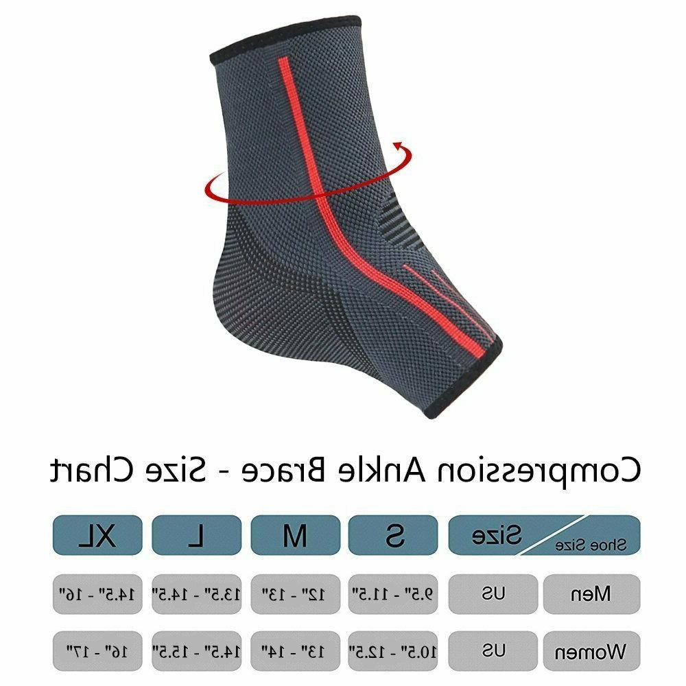 Ankle Support Brace Sleeve Foot Relief for