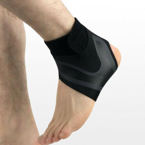 S-XL Ankle Support Protection Brace Compression Sleeve Fit F