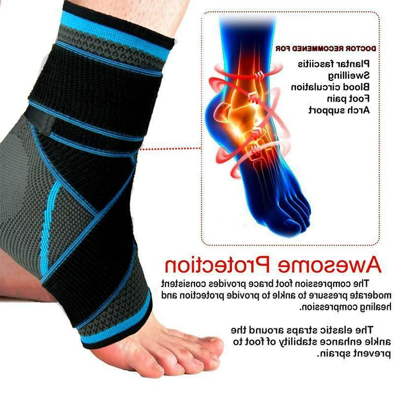 Ankle Support Fasciitis Compression Sock Foot