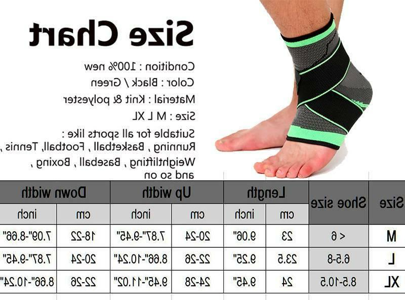 Ankle Fasciitis Compression Joint Pain Sleeves O