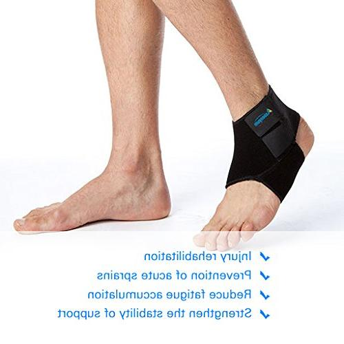 Ankle Running Breathable for and Men Black by