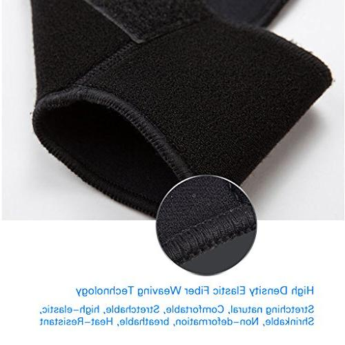 Ankle Running Basketball - Breathable Adjustable Ankle for and Black ASOONYUM