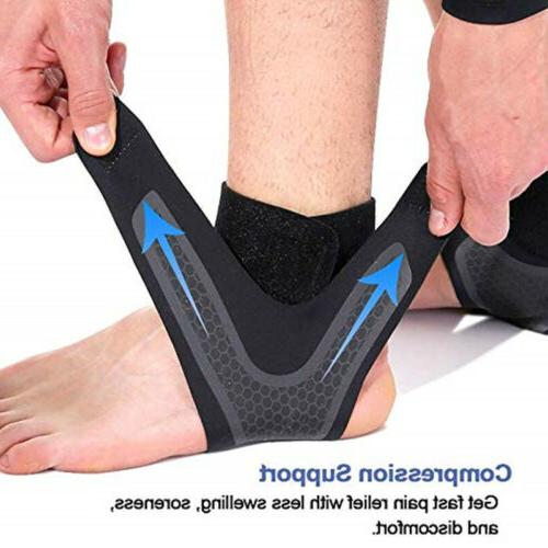 Ankle Compression Men & Women Black