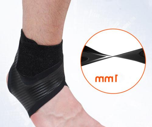 Ankle Support Compression Brace Men Black
