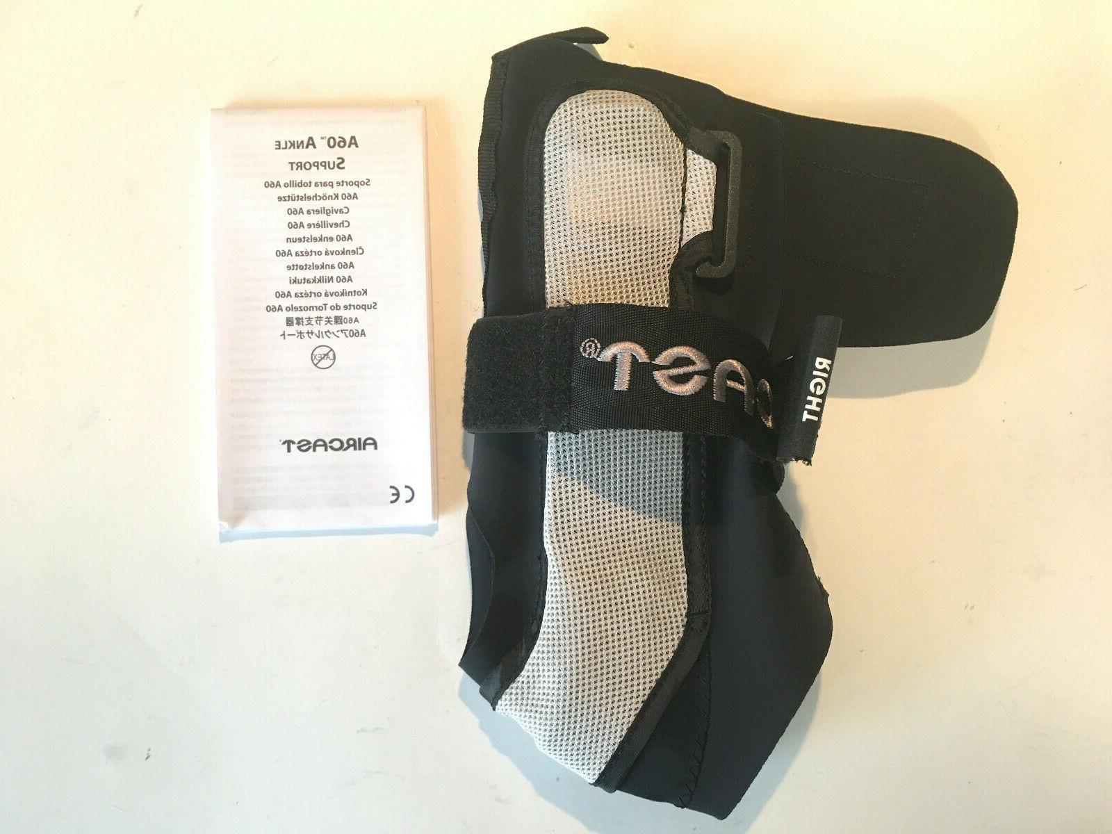 ankle support by a60 brace right foot