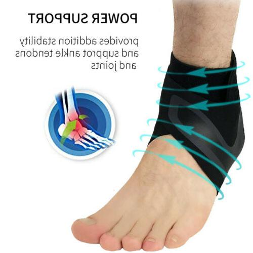 New Adjustable Elastic Ankle Support Protector Foot Wrap