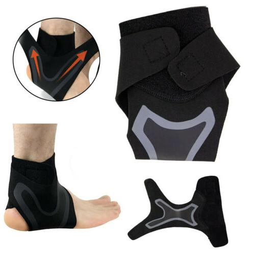 New Adjustable Sports Ankle Brace Support Protector Wrap