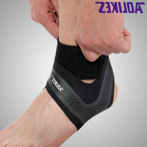 Ankle Support Fasciitis Sleeve Wrap Brace