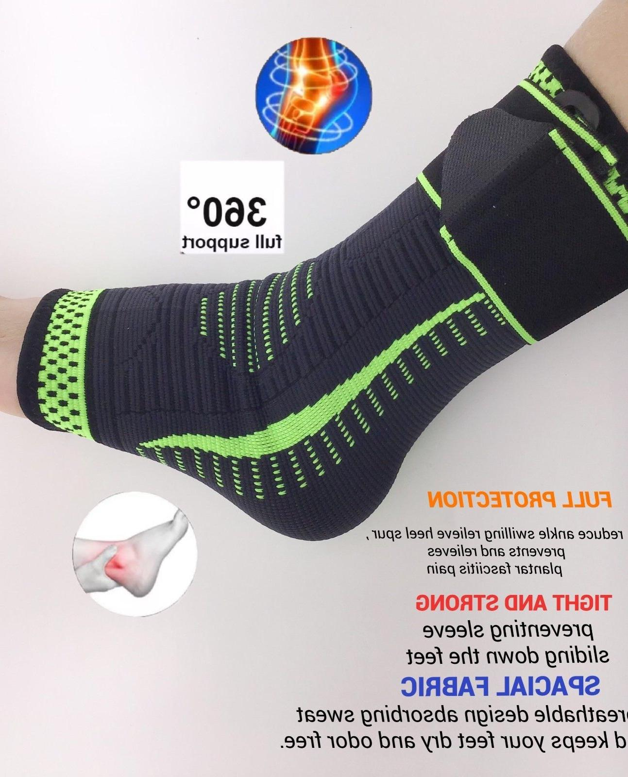 Ankle Support Compression Fasciitis Wrap