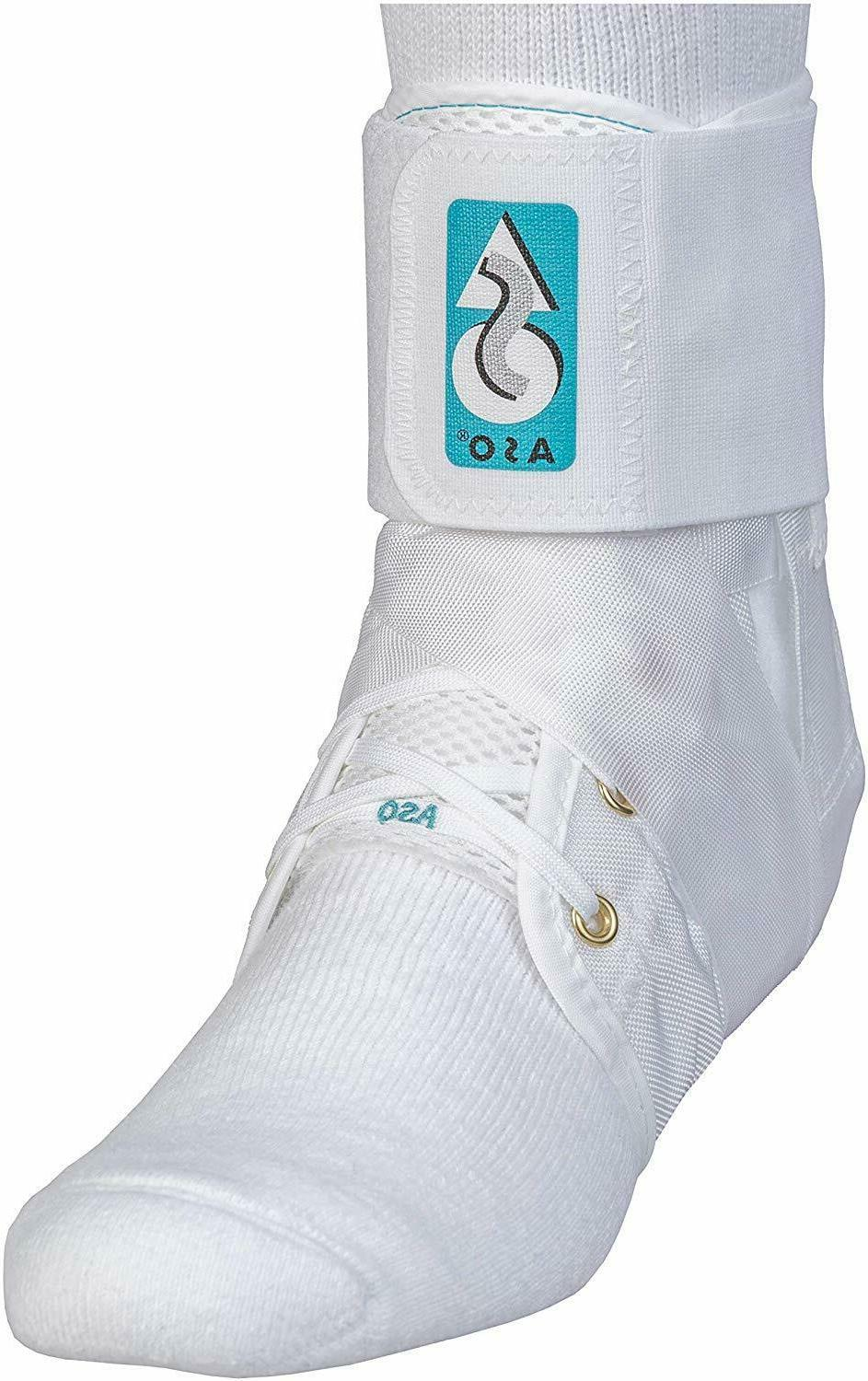 aso white ankle stabilizer ankle brace lace