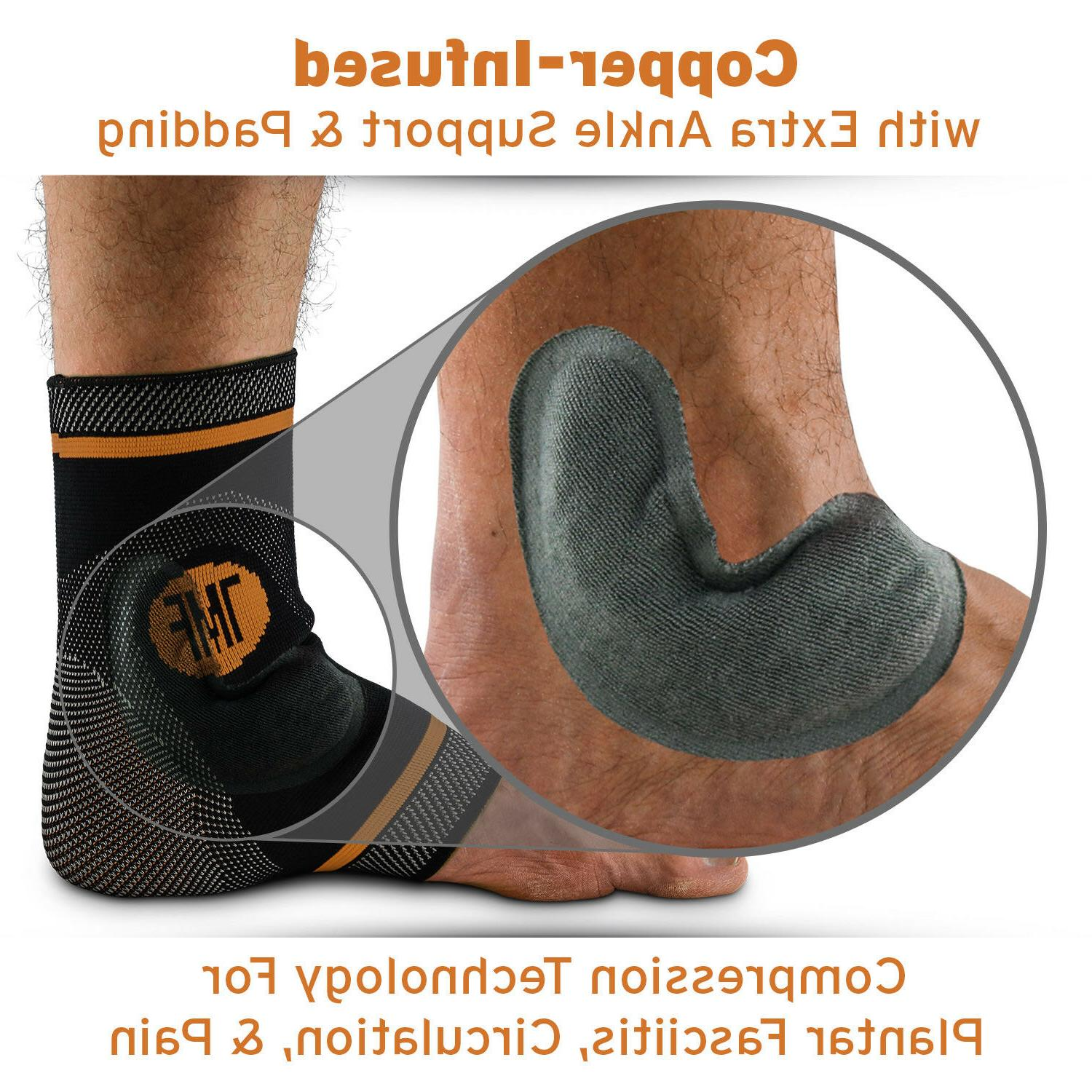 Plantar Ankle Brace Support Pain Sleeve