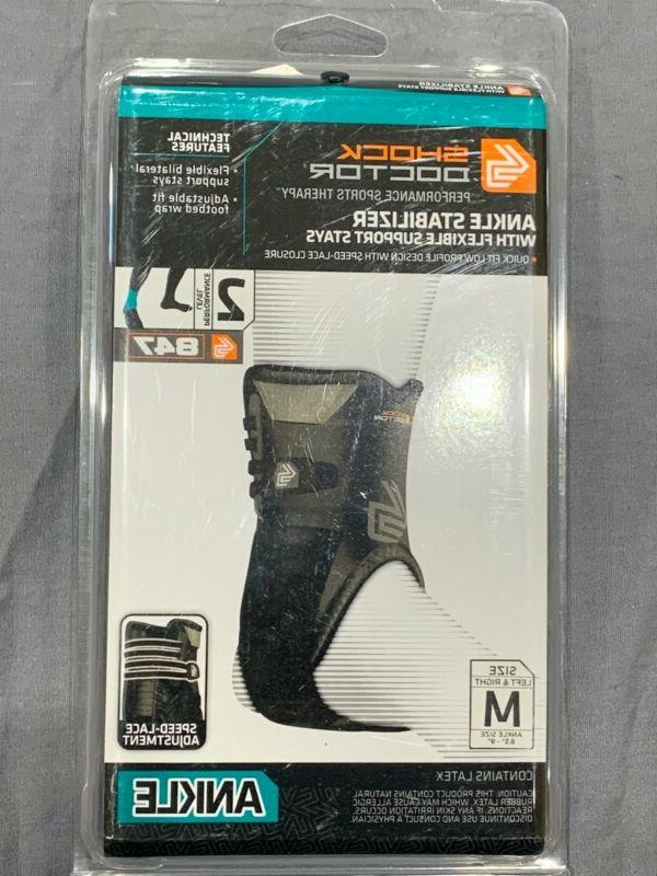 brand new 847 ankle stabilizer flexible bilateral