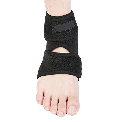 Breathable Neoprene Ankle Support, One Size, Black