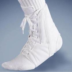 CANVAS LACE-UP ANKLE BRACE, WHITE XS - RETAIL by FLA Orthope
